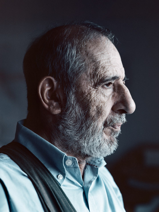 Alvaro Siza portrait for Monocle Magazine by luis diaz diaz
