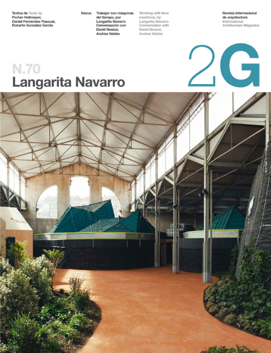 Cover 2G magazine Langarita-Navarro issue